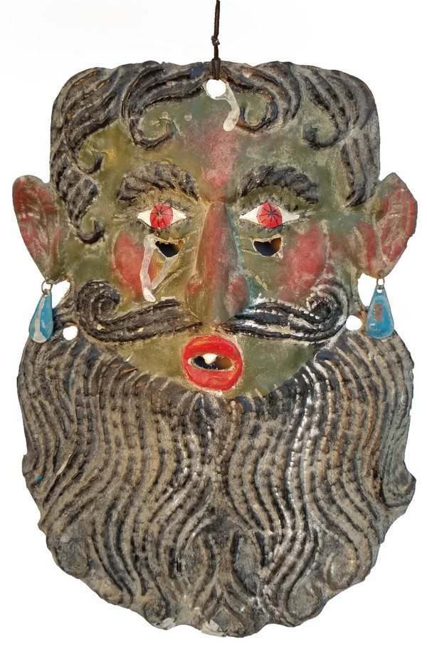 Guerrero copper Folk art Mask Main