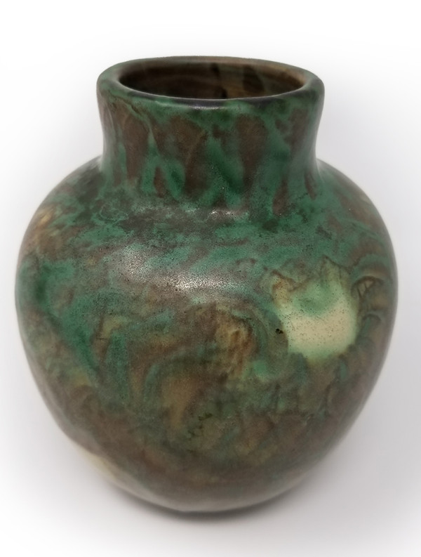 Peters and Red Landsun Antique Pottery Vase 3