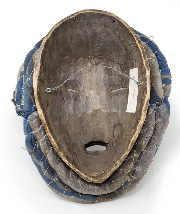 Reverse side of Dan tribal mask.