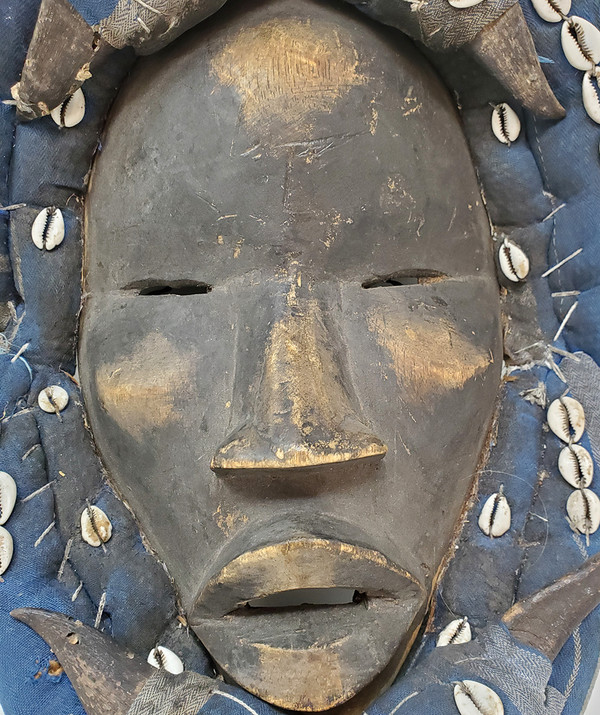 Face of Dan African mask.
