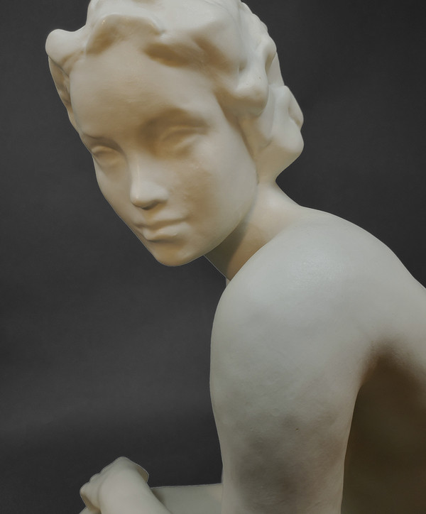 Face of porcelain Rosenthal nude.