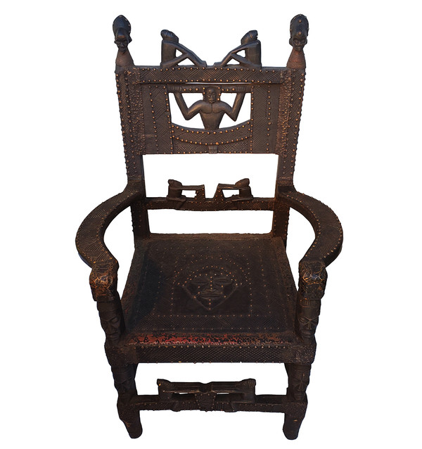 Chokwe Carved Chair