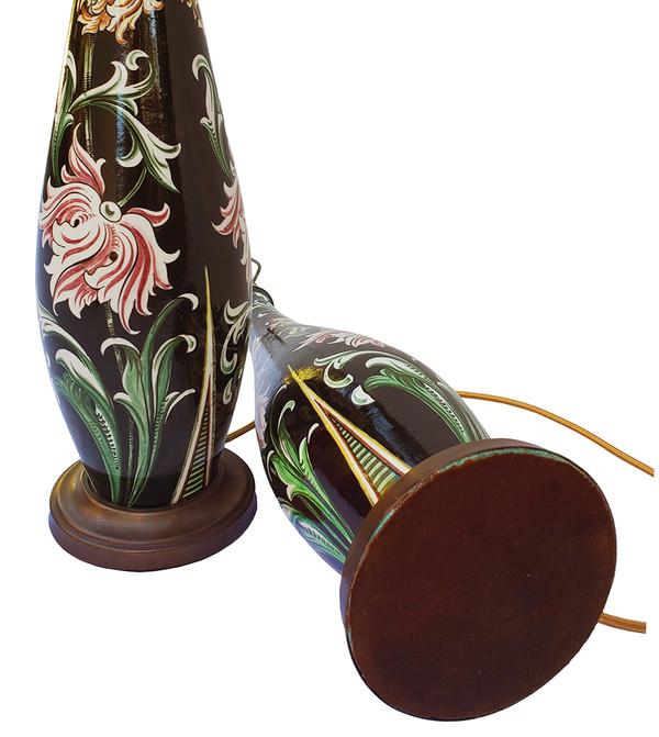 Portuguese Floral Lamps