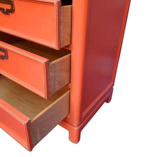 Seven-Day Dresser in Persimmon