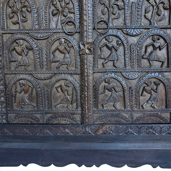 Carved Asian Cabinet