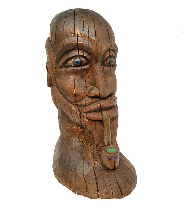 Americana Head Carving