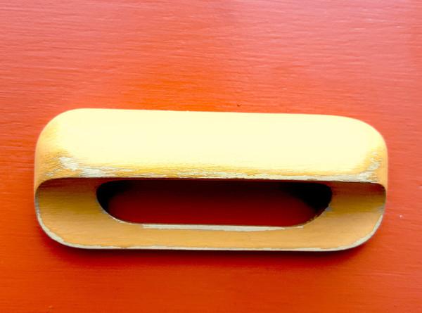 Retro Modern dresser handle detail