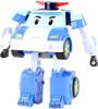 POLI TRANSFORMING ROBOT WITH LIGHTING BLUE