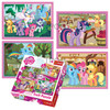 MY LITTLE PONY PUZZLE 4 IN 1