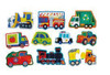THINGS THAT GO WOOD PUZZLE 16PCS