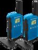 MOTOROLA WALKIE TALKIES TALKABOUT T42 BLUE TWIN PACK