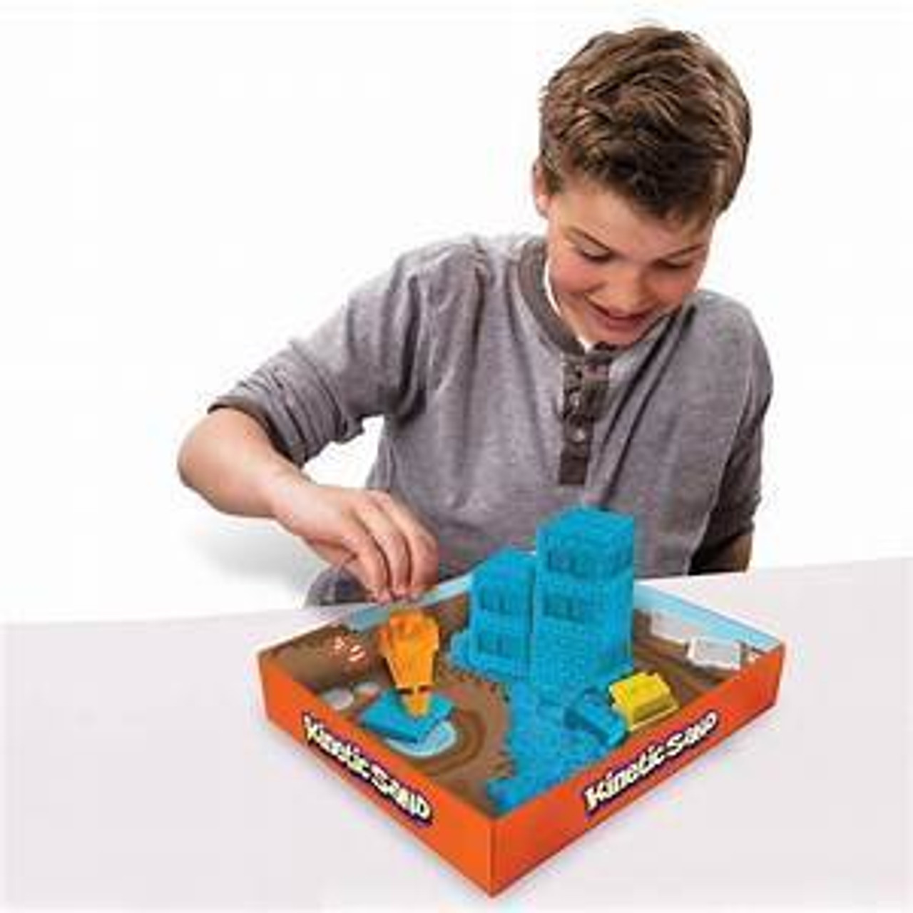 KINETIC SAND CONSTRUCTION ZONE