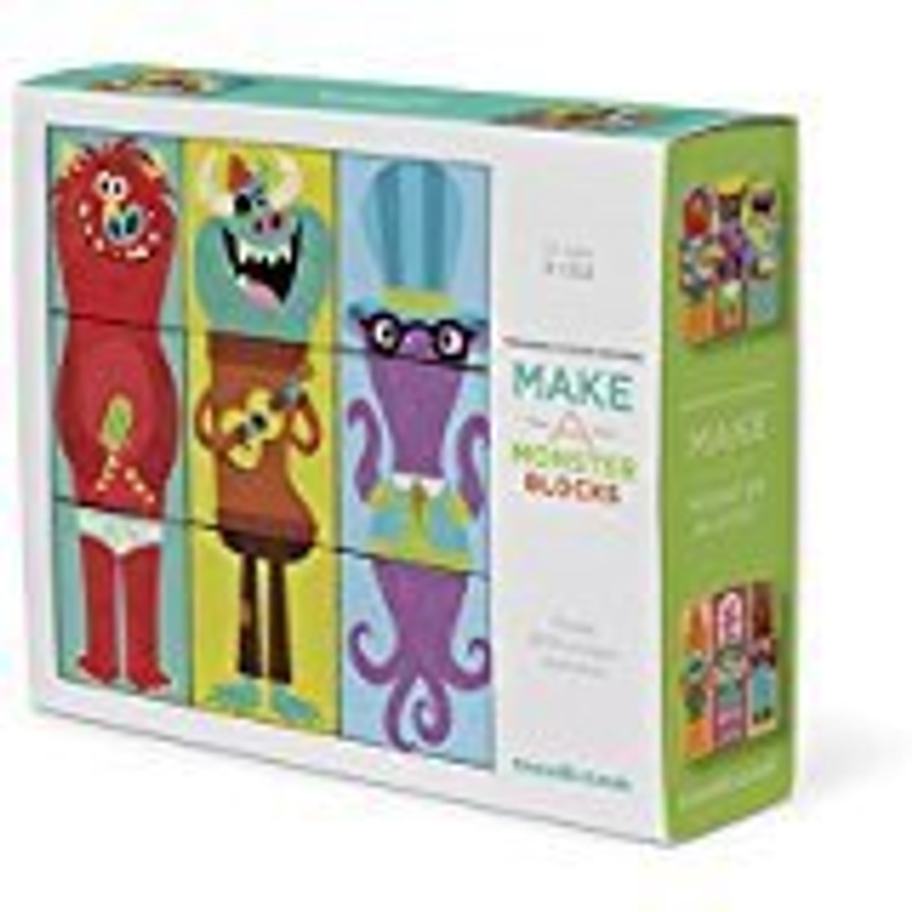 MAKE A MONSTER PUZZLE BLOCKS