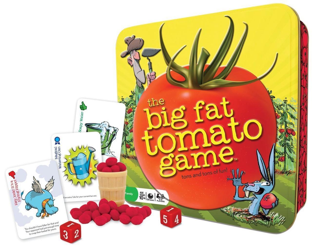 THE BIG FAT TOMATO GAME