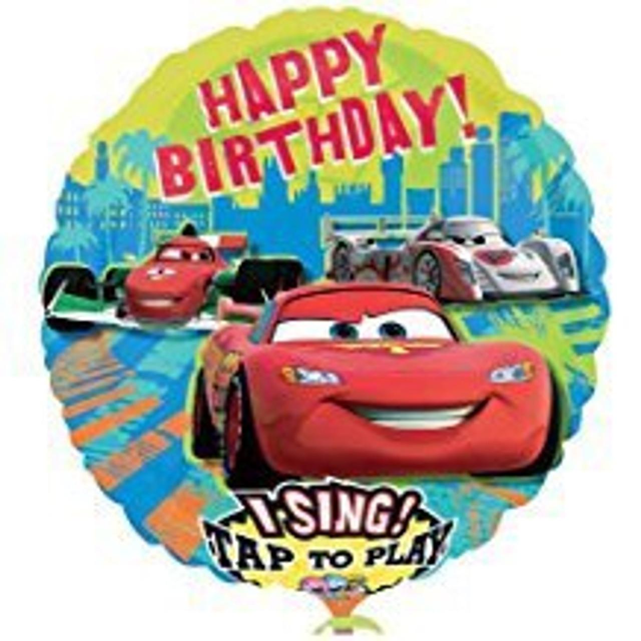 CARS SINGING BALLOON
