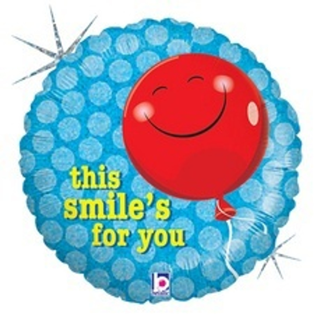 THIS SMILE'S FOR U FOIL BALLOO
