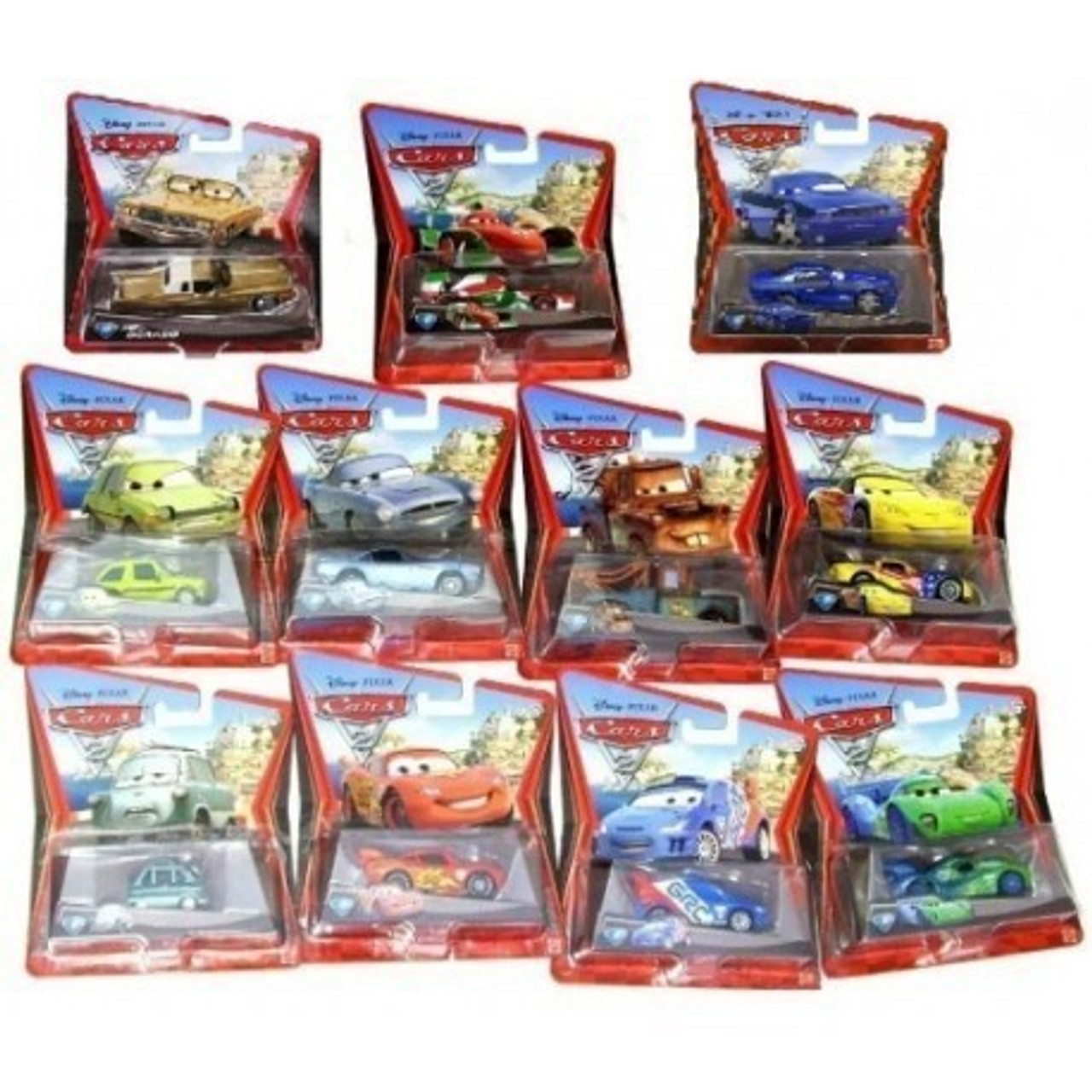 CARS 2 CHAR DIE CAST AST