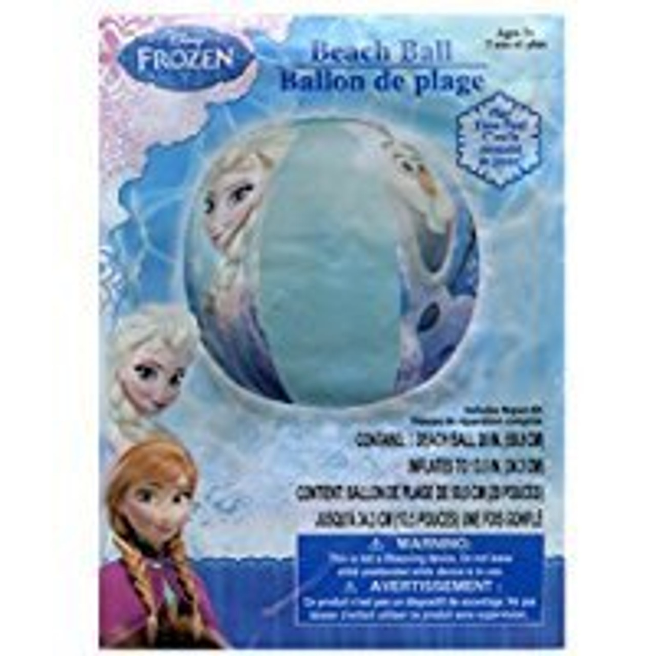 DISNEY FORZEN INFLATABLE BEACH BALL