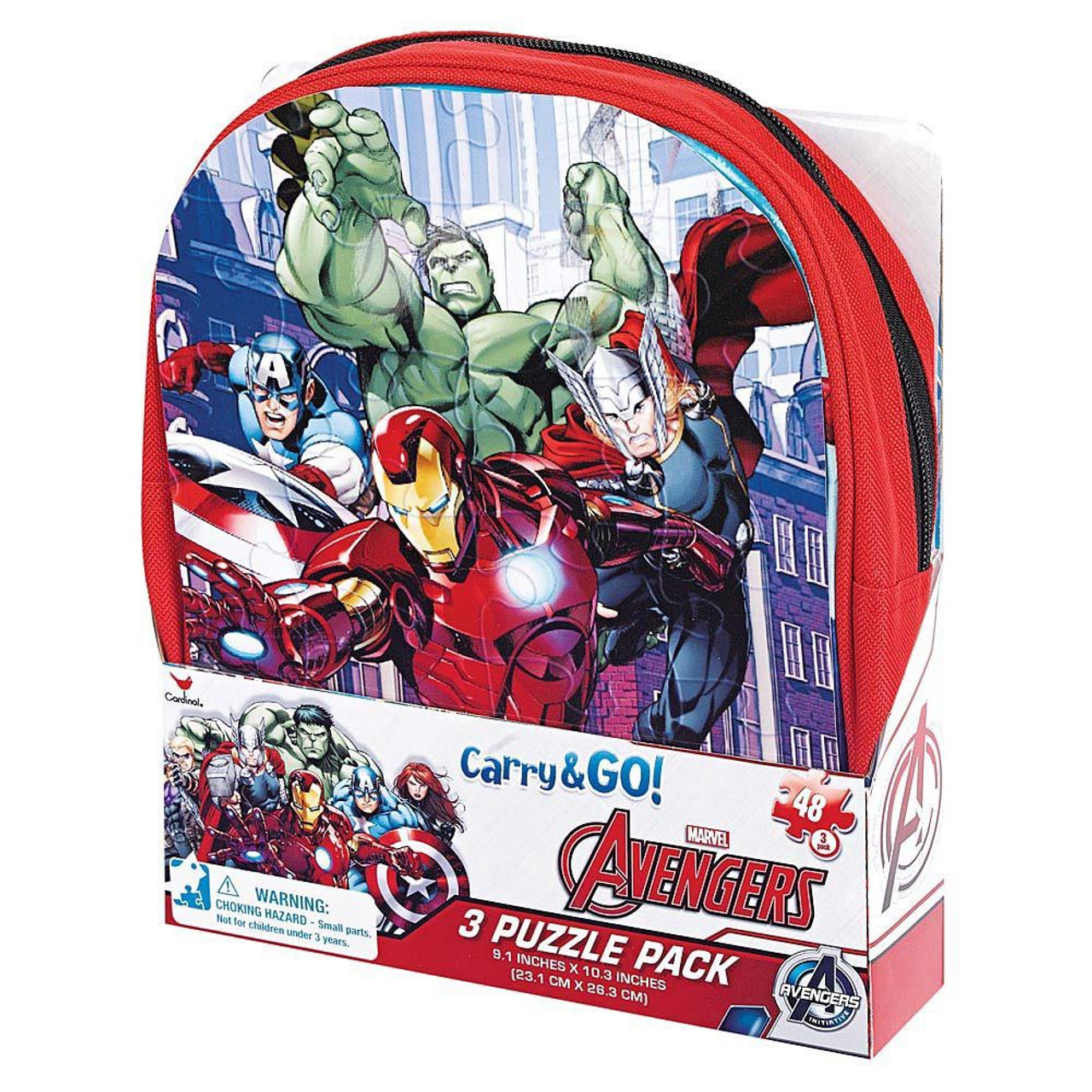 AVENGERS 3 PUZZLE PACK