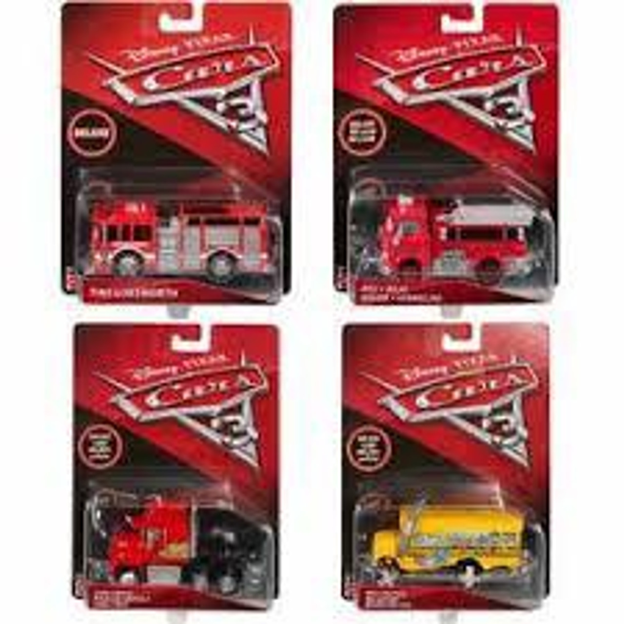 CARS 3 DELUXE DIECAST VEHICLE