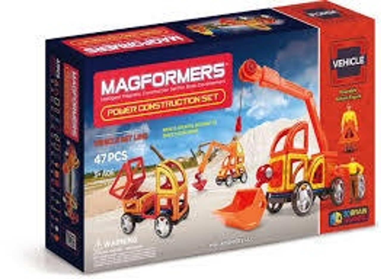 MAGFORMERS POWER CONSTRUCTION