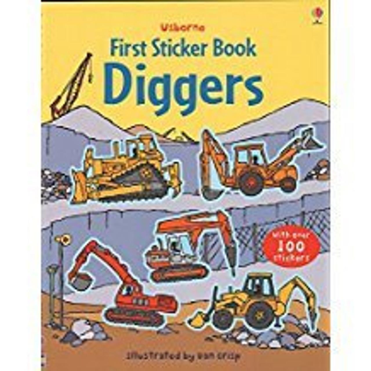 DIGGERS FIRST STICKER BOOK