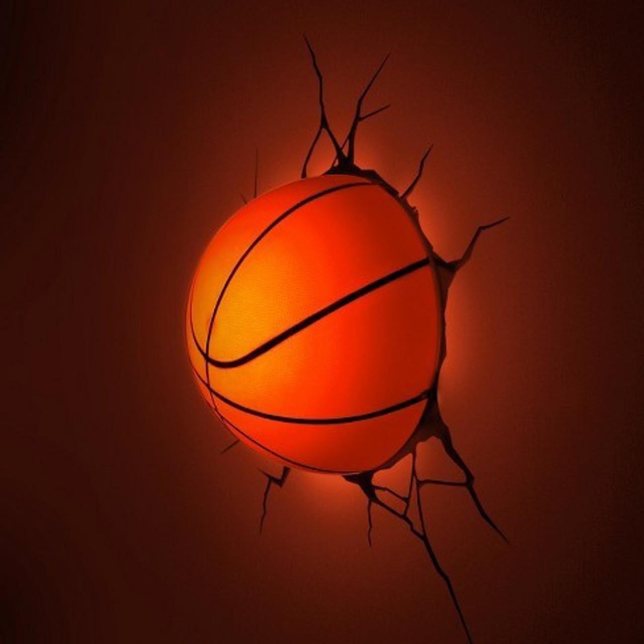 3D DECO LIGHT BASKETBALL