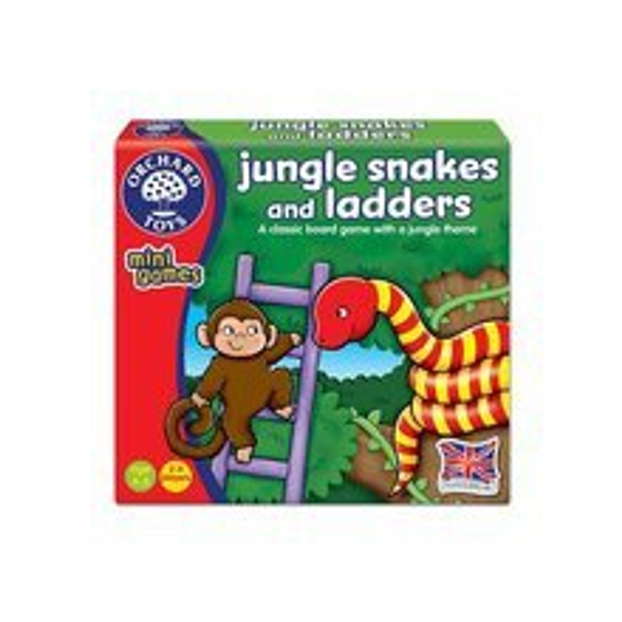 JUNGLE SNAKES AND LADDERS MINI GAMES