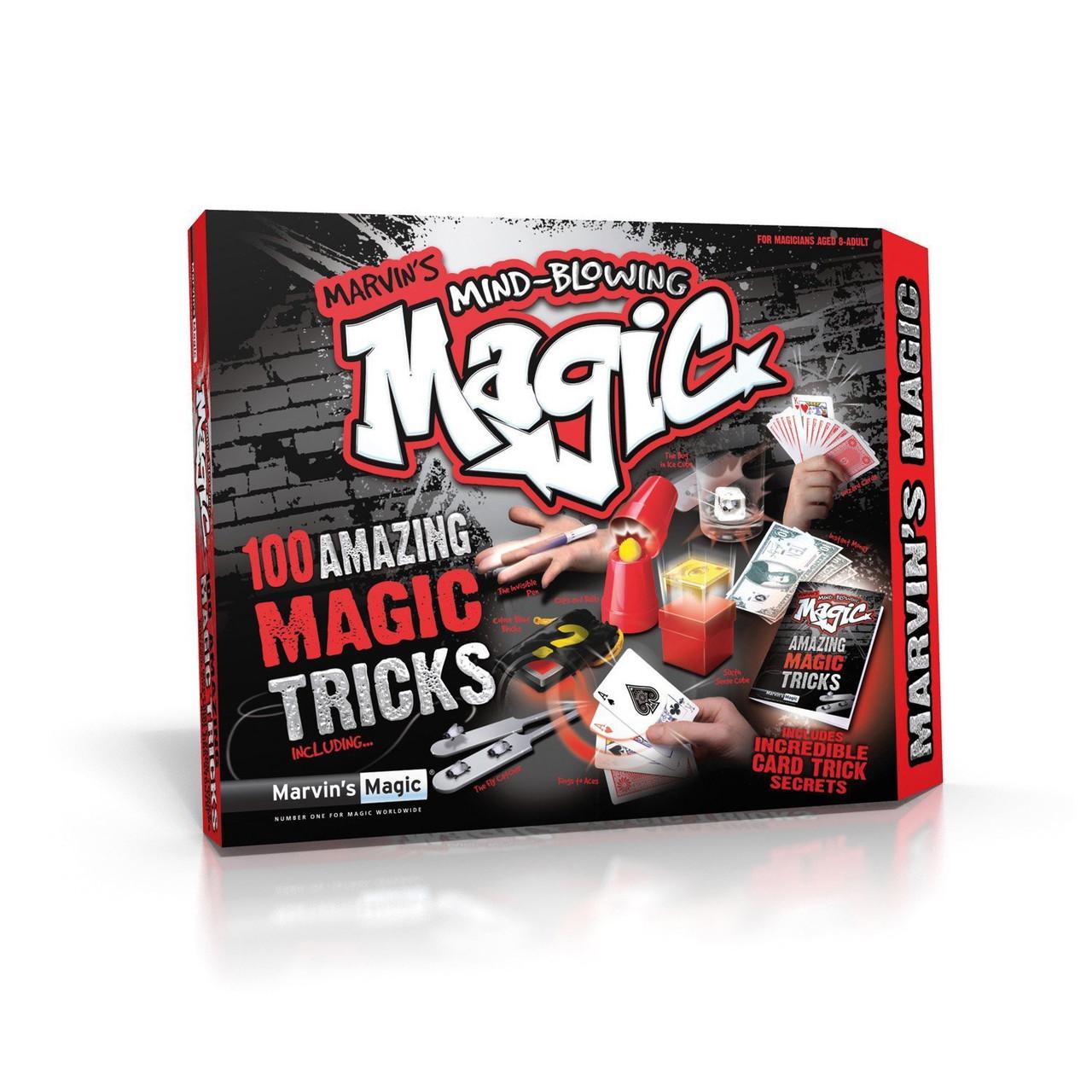 MIND-BLOWING 100 MAGIC TRICKS