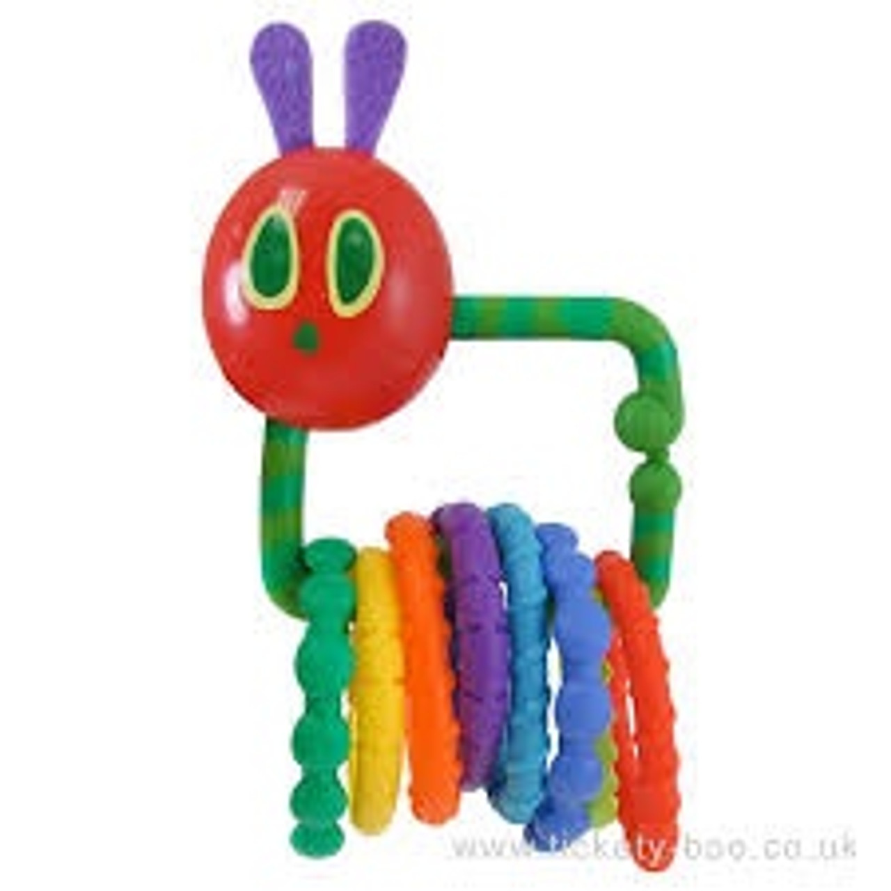 ERIC CARLE RATTLE TEETHER WITH LINKS