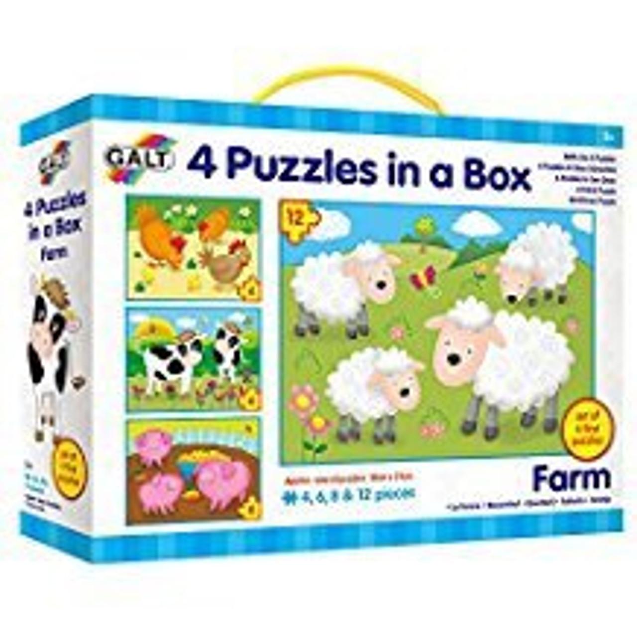4 PUZZLES IN A BOX FARM