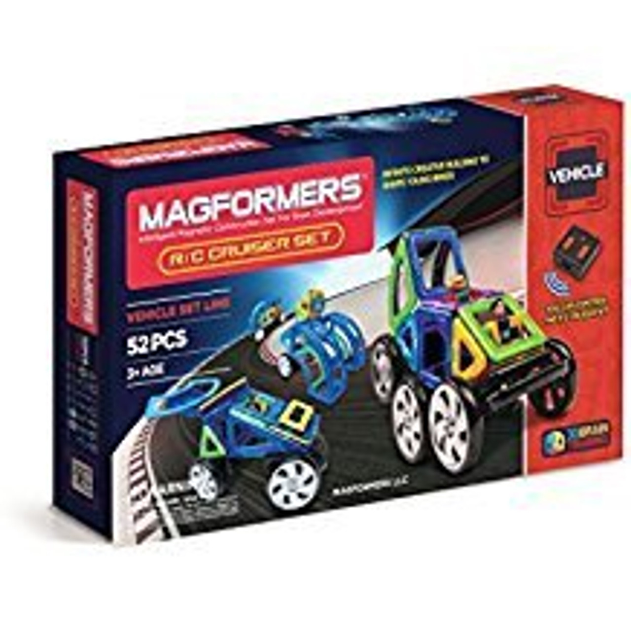 MAGFORMERS R/C CRUISERS