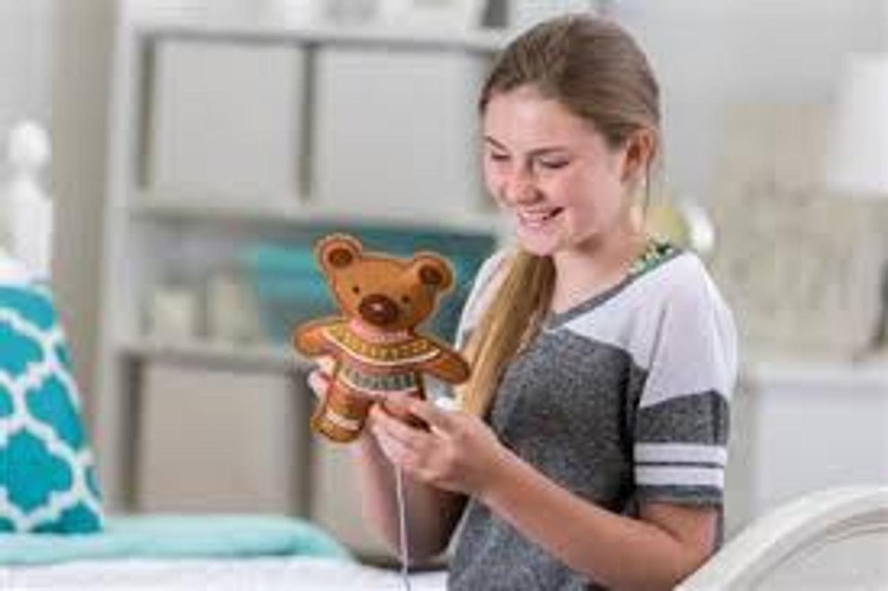 EMBROIDERY TEDDY BEAR