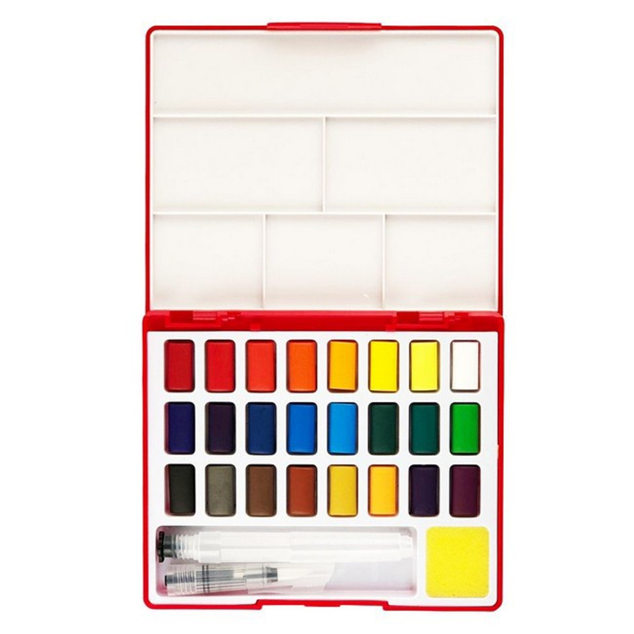 SOLID WATERCOLOURS SET 24