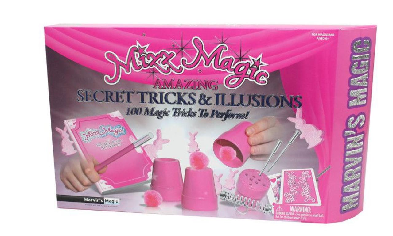 MARVIN'S MAGIC AMAZING SECRET TRICKS & ILLUSIONS 75 MAGIC TRICKS
