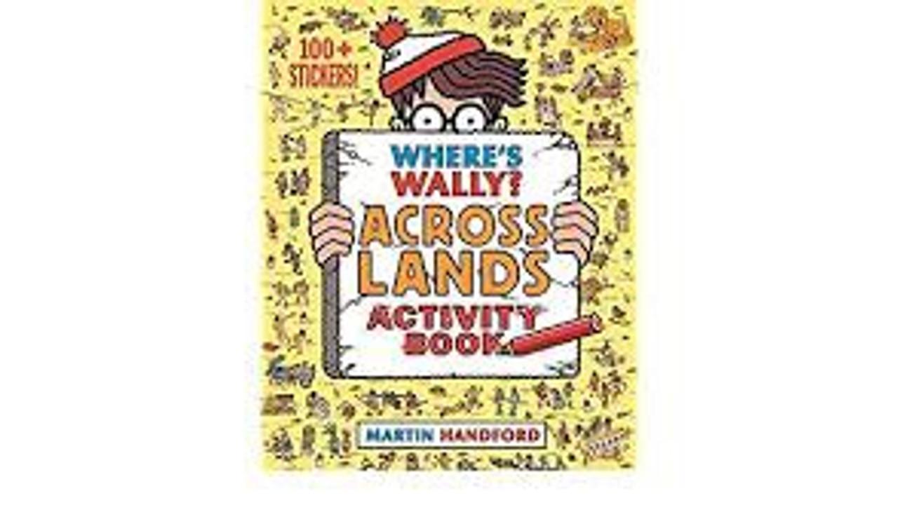 WHERE'S WALLY? ACROSS LANDS ACTIVITY BOOK (PB)