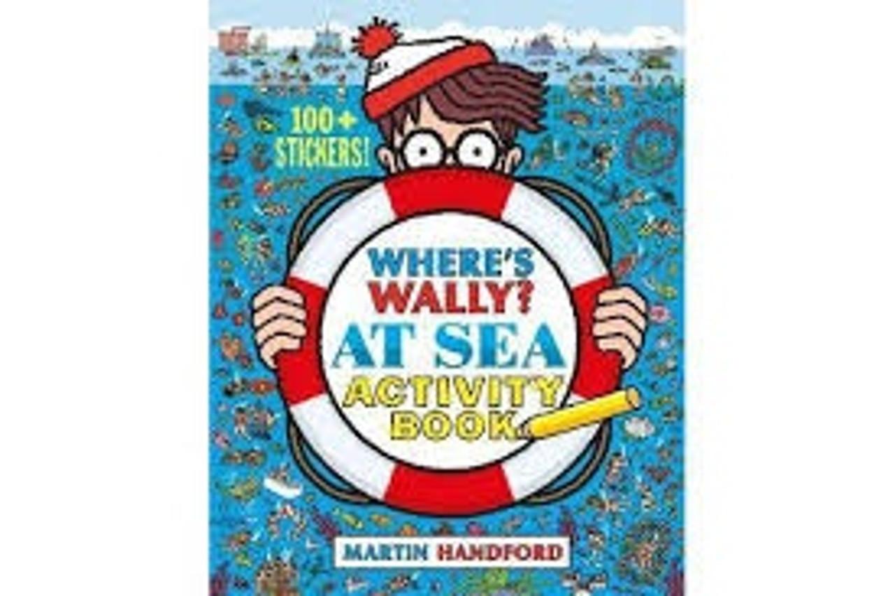 WHERE'S WALLY? AT SEA ACTIVITY BOOK (PB)