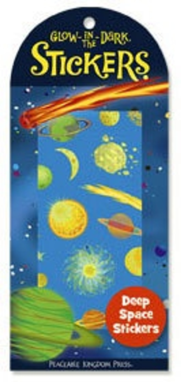 GLOWING DEEP SPACE STICKERS