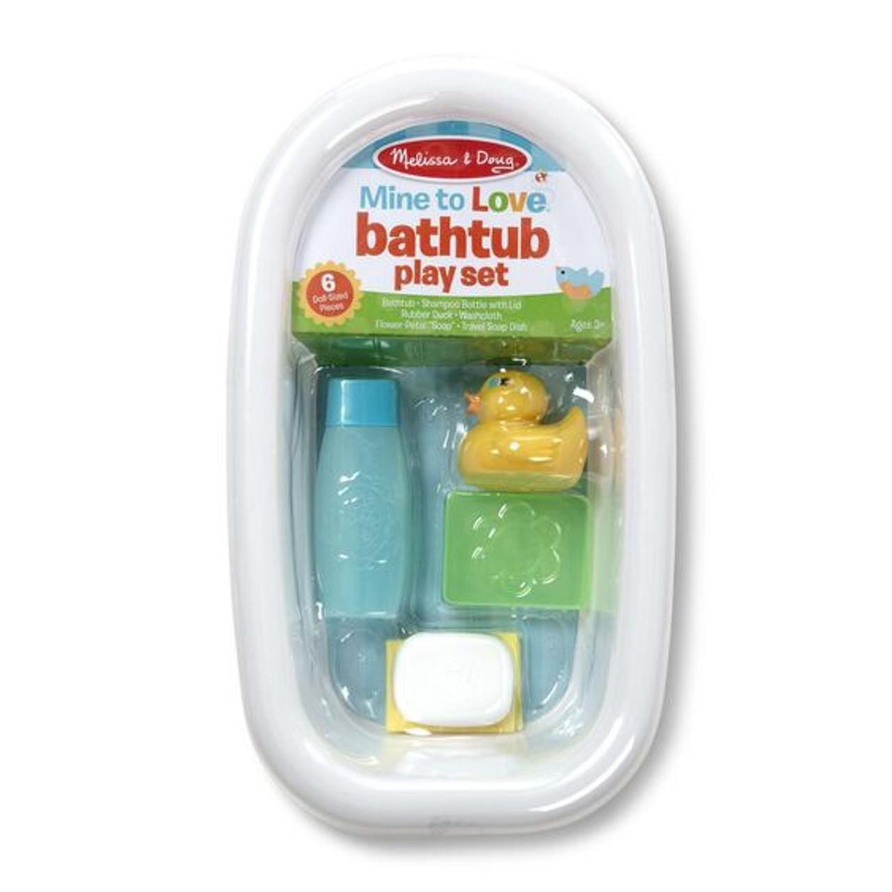 MINE TO LOVE BATHTUB PLAY SET-WHITE