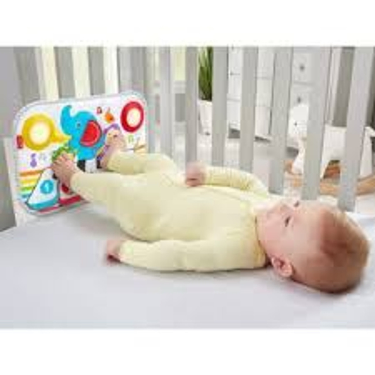 FISHER-PRICE SMART STAGES KICK & PLAY CRIB PIANO