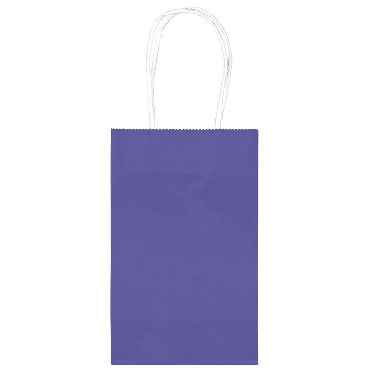 TREAT BAGS 10 BRIGHT ROYAL BLUE / YELLOW