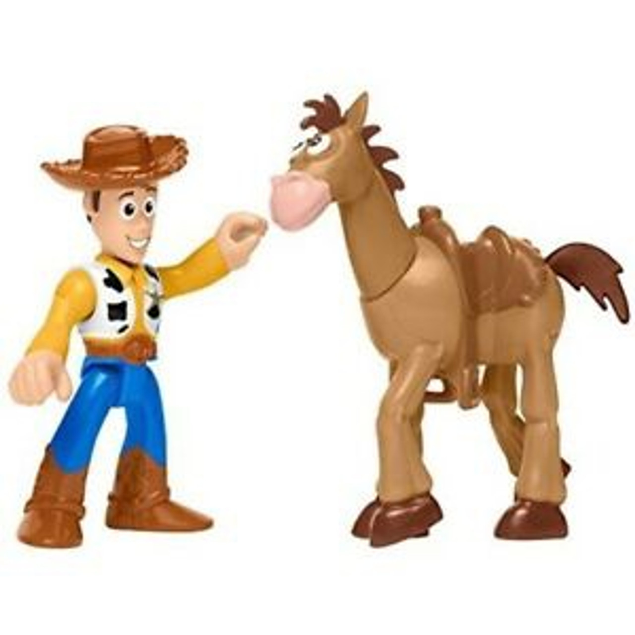TOY STORY 4 - WOODY & BULLSEYE
