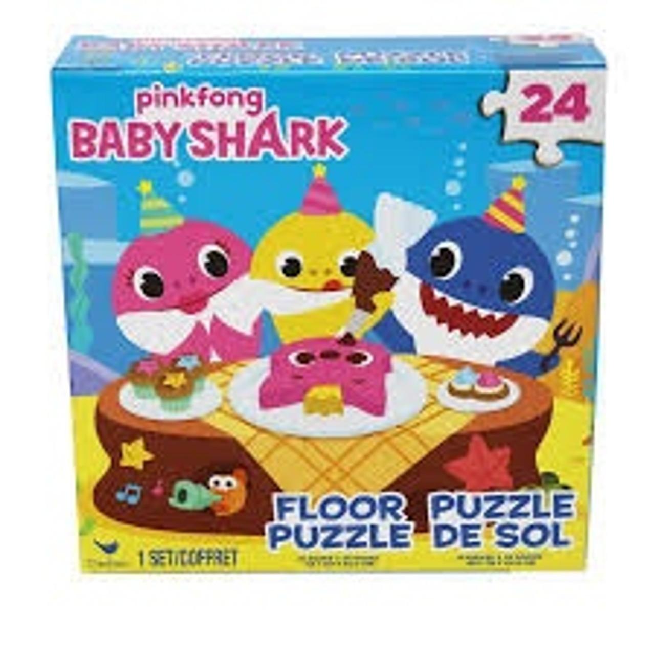 BABY SHARK 24 PC FLOOR PUZZLE
