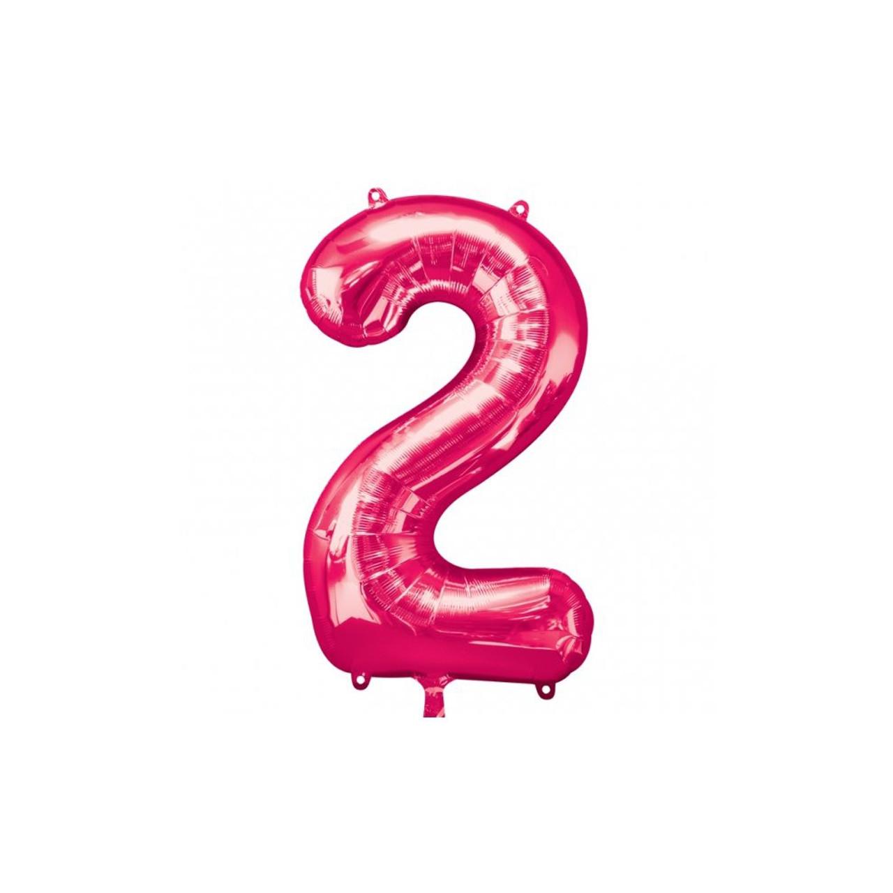 "NUMBER 2 PINK 33"""