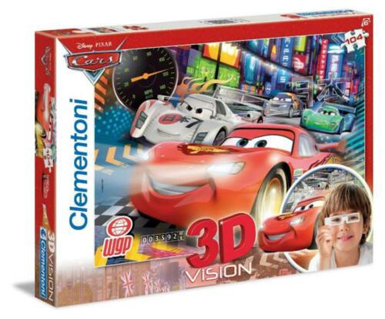 DISNEY CARS PUZZLE 3D 104