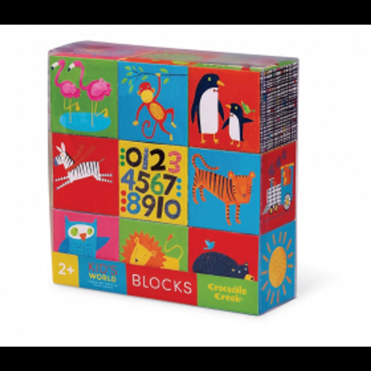 KID'S WORLD BLOCKS 9 PCS
