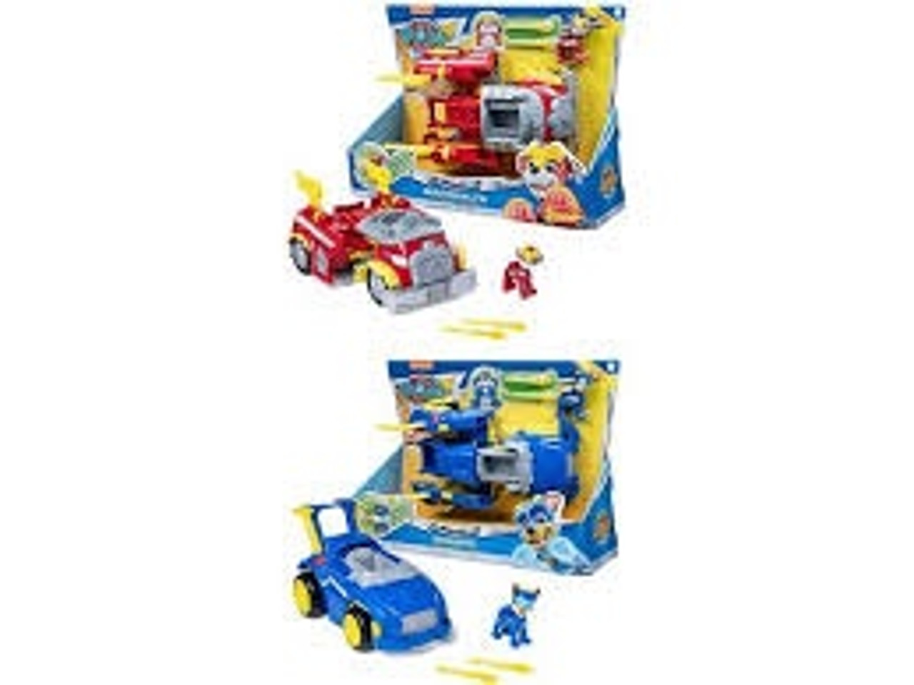 PAW PATROL POWER CHANGING VEHICLE ASST
