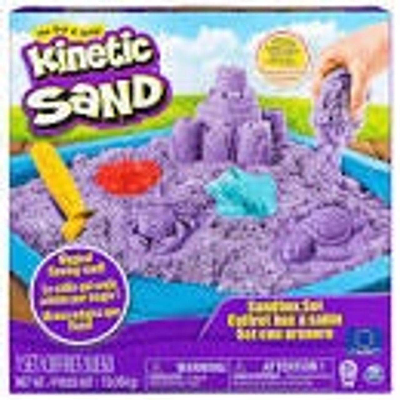 KINETIC SANDBOX SET BLUE