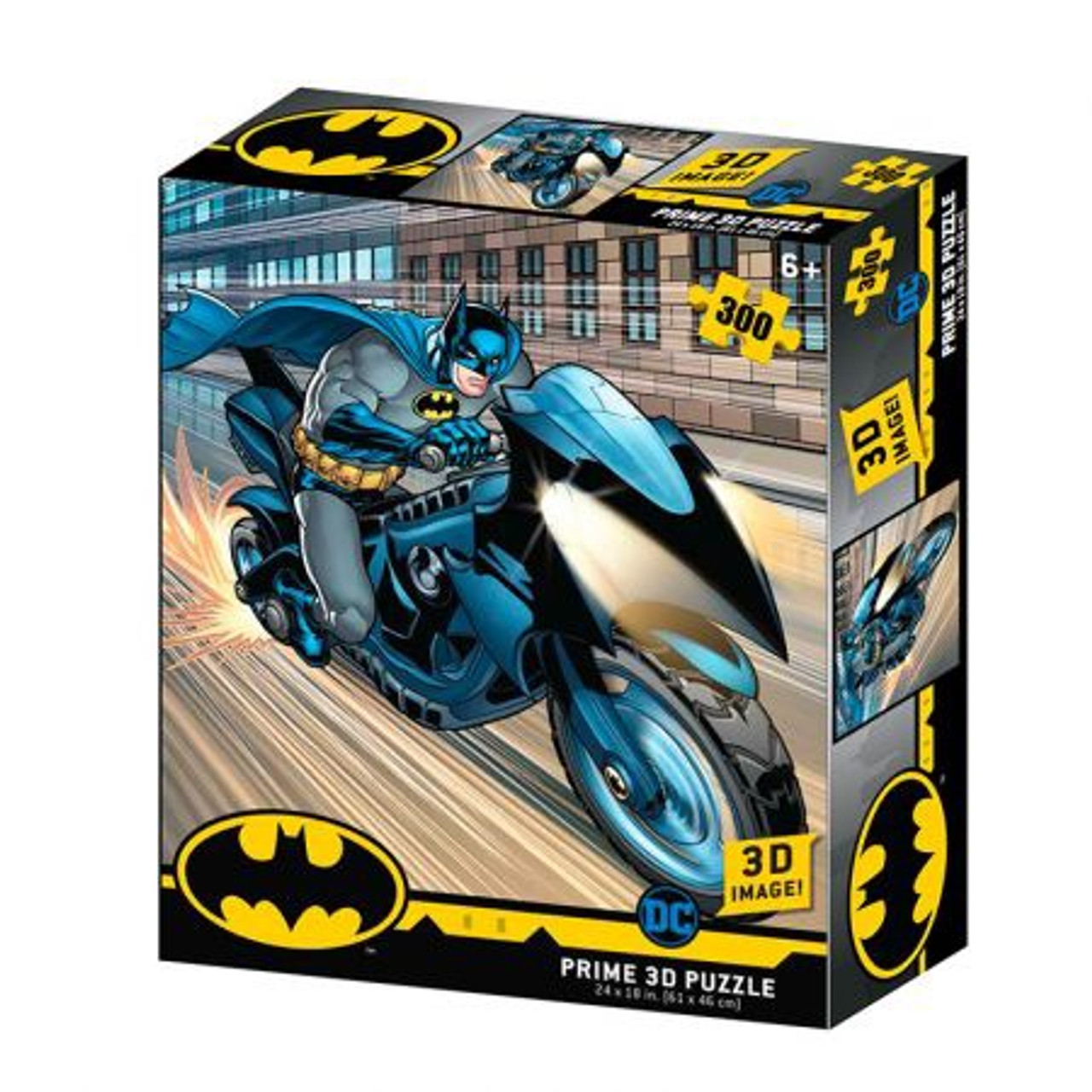 3D PUZZLE BATMAN BATCYCLE 300 PCS