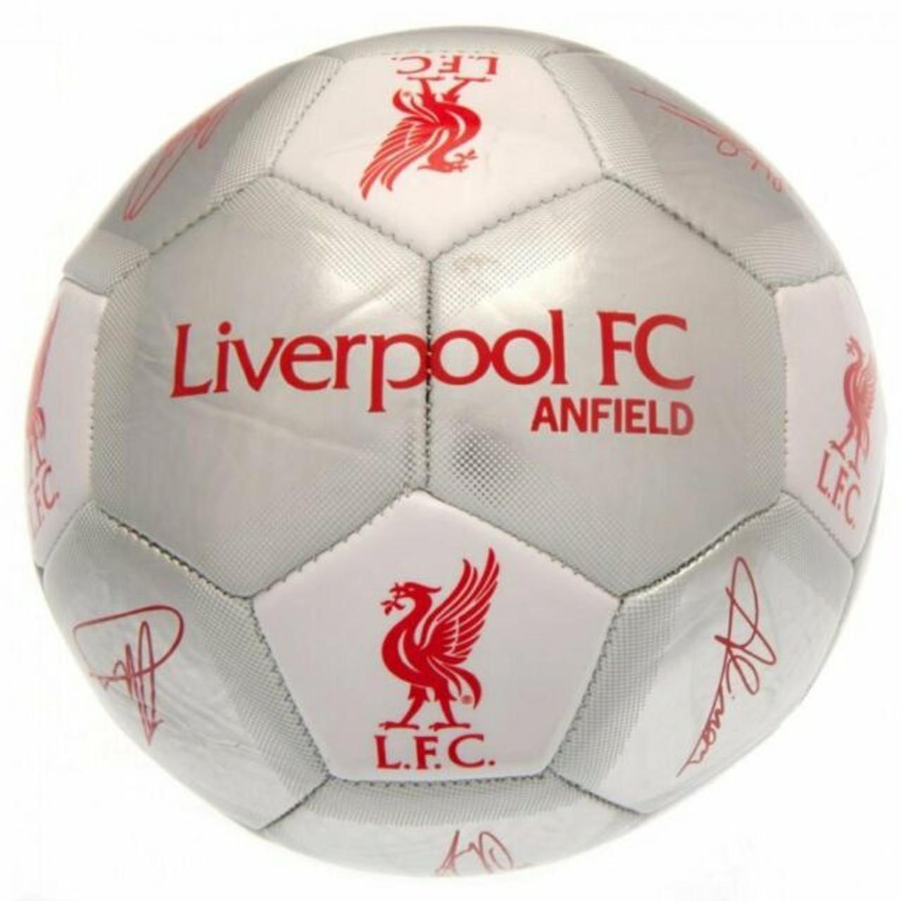 LIVERPOOL FOOTBALL SIGNATURE SILVER